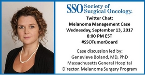 Genevieve Boland, MD Twitter chat image